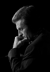 Günther Oettinger, European Commissioner of Energy. (Photo © Jock Fistick)