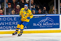 KELOWNA, BC - DECEMBER 18:  Philip Broberg #25 of Team Sweden skates against Team Russia at Prospera Place on December 18, 2018 in Kelowna, Canada. (Photo by Marissa Baecker/Getty Images)***Local Caption***