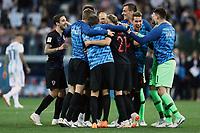 Croatia players celebrate at the end of the match <br /> Nizhny Novgorod 21-06-2018 Football FIFA World Cup Russia  2018 <br /> Argentina - Croatia / Argentina - Croazia <br /> Foto Matteo Ciambelli/Insidefoto