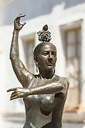 Statue of Conchita Aranda in Andalucia, Spain