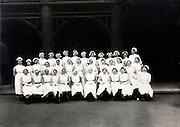 1930s group portrait with new nurses