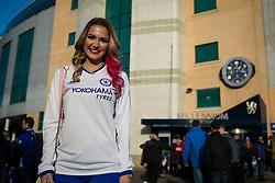 Emily Rogawski arrives back at her home away from home Stamford Bridge - Mandatory by-line: Jason Brown/JMP - 26/12/2016 - FOOTBALL - Stamford Bridge - London, England - Chelsea v Bournemouth - Premier League