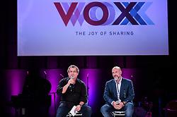 Paulo Lima e Roberto Klabin durante o VOX - The Joy of Sharing, evento que  pretende provocar reflexões sobre o futuro da comunicação a partir do compartilhamento de conteúdo e experiências. FOTO: Jefferson Bernardes/ Agência Preview