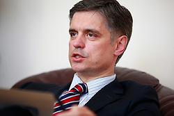 April 5, 2017 - Kiev, Ukraine - Vadym Prystaiko - First Deputy Minister of Foreign Affairs of Ukraine (Credit Image: © Nazar Furyk via ZUMA Wire)