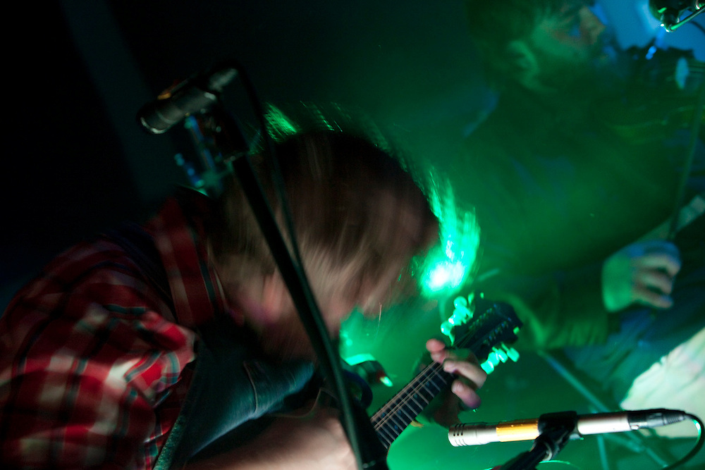 Bands Trampled by Turtles and pert Near Sandstone music show at Lutsen Mountain Ski Area at Papa Charlie's Bar Snowball weekend