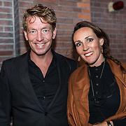 NLDAmsterdam/20190924- Uitreiking Gouden Notenkraker 2019, Jan-Willem Roodbeen en partner