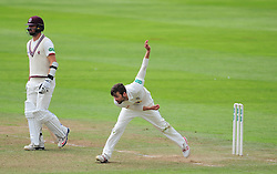 Mark Wood of Durham bowls.  - Mandatory by-line: Alex Davidson/JMP - 04/08/2016 - CRICKET - The Cooper Associates County Ground - Taunton, United Kingdom - Somerset v Durham - County Championship