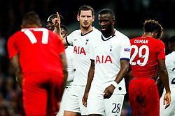 Jan Vertonghen of Tottenham Hotspur looks on - Rogan/JMP - 01/10/2019 - FOOTBALL - Tottenham Hotspur Stadium - London, England - Tottenham Hotspur v Bayern Munich - UEFA Champions League Group B.
