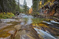 Autumn at Granite Creek, Bondurant, Wyoming