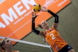 10-05-2018 NED: Training Dutch volleyball team women, Arnhem<br /> Femke Stoltenborg #2 of Netherlands