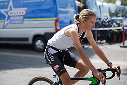 Hannah Nilsson at La Course High Speed Pursuit 2017 - a 22.5 km pursuit road race on July 22, 2017, in Marseille, France. (Photo by Sean Robinson/Velofocus.com)