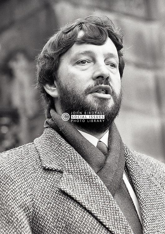 David Blunkett MP, UK April 1989