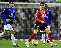 fotball , 22. februarr 2008 , UEFA , Everton - Brann<br /> <br /> Erik Bakke<br /> foto: Rune Nilsen, Digitalsport