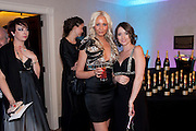 SARAH WHITEFOOT; LAURA KITTS, The London Bar and Club awards. Intercontinental Hotel. Park Lane, London. 6 June 2011. <br /> <br />  , -DO NOT ARCHIVE-© Copyright Photograph by Dafydd Jones. 248 Clapham Rd. London SW9 0PZ. Tel 0207 820 0771. www.dafjones.com.