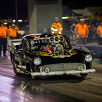 Tracey De Jager - 2129 - Nitrous Nanna Racing - 1955 Ford Thunderbird - Supercharhed Outlaws (SC/S)