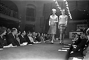 28/03/1963<br /> 03/28/1963<br /> 28 March 1963<br /> DAKs Men's style fashion show at the Gresham Hotel, Dublin. Models are Suzanne McDougald and Yvonne Berry.