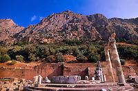 Tholos, Athena Pronaia Sanctuary, Delphi, Greece