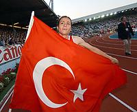 Suereyya Ayhan (TUR) gewinnt den 1500m Lauf. © Andy Mueller/EQ Images