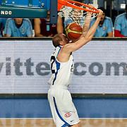 Anadolu Efes's Sinan Guler during their Turkish Basketball League match Anadolu Efes between Trabzonspor at Sinan Erdem Arena in Istanbul, Turkey, Saturday, December 10, 2011. Photo by TURKPIX
