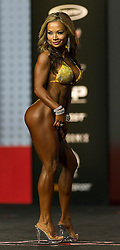 Sept.16, 2016 - Las Vegas, Nevada, U.S. -  NOY ALEXANDER competes in the Bikini Olympia contest during Joe Weider's Olympia Fitness and Performance Weekend.(Credit Image: © Brian Cahn via ZUMA Wire)