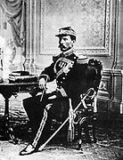 Jose de la Cruz Porfirio Diaz Mori (1830-1915) Mexican Liberal politician and soldier.  President of the Republic of Mexico  1877-1880 and 1884-1911. After the collapse of his regime he fled to France and died in exile in Paris.