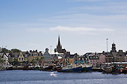 Stornoway harbour, Outer Hebrides, United Kingdom