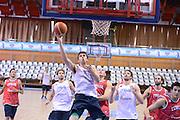 Chamutov 17 Agosto 2012 - qualificazioni Eurobasket 2013 - Allenamento<br /> Nella Foto : JEFF VIGGIANO<br /> Foto Ciamillo/Castoria