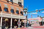 Downtown historic district, Durango, Colorado USA