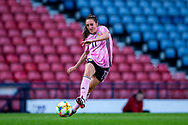 Lisa Evans (#11) of Scotland plays a pass during the International Friendly match between Scotland Women and Jamaica Women at Hampden Park, Glasgow, United Kingdom on 28 May 2019.