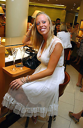 ANNABELLE RITCHIE at a party hosted by Links at their store in Sloane Square, London to celebrate the forthcoming Glorious Goodwood Racing festival held on 26th July 2006.<br /><br />NON EXCLUSIVE - WORLD RIGHTS
