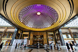 Interior the Prestige mall inside The Avenues shopping mall in Kuwait City, Kuwait.