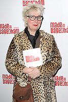 Jenny Eclair, Made In Dagenham - press night, Adelphi Theatre, London UK, 05 November 2014, Photo by Richard Goldschmidt