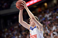 Real Madrid's Luka Doncic during semi finals of playoff Liga Endesa match between Real Madrid and Unicaja Malaga at Wizink Center in Madrid, May 31, 2017. Spain.<br /> (ALTERPHOTOS/BorjaB.Hojas)