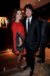 NATALIA VODIANOVA and ANTOINE ARNAUD son of Bernard Arnaud at a party to celebrate the opening of the Louis Vuitton Bond Street Maison, New Bond Street, London on 25th May 2010.