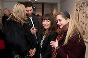 KIM HERSOV;  IDRIS KHAN; ANNIE MORRIS; DAISY DE VILLENEUVE;, There is a Land Called Loss   Annie Morris   Pertwee Andersen and Gold, in association with Adam Waymouth Art , Private View, 15 bateman st. W1 2nd February 2012