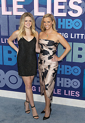 May 29, 2019 - New York, New York, United States - Ava Phillippe and Reese Witherspoon wearing dress by Elie Saab attend HBO Big Little Lies Season 2 Premiere at Jazz at Lincoln Center  (Credit Image: © Lev Radin/Pacific Press via ZUMA Wire)