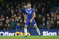 Gary Cahill of Chelsea looks on wearing a rainbow coloured captains armband. Premier league match, Chelsea v Tottenham Hotspur at Stamford Bridge in London on Saturday 26th November 2016.<br /> pic by John Patrick Fletcher, Andrew Orchard sports photography.