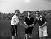 1953 - Soccer: League of Ireland v Irish League at Dalymount Park