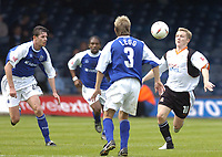 Fotball<br /> England 2004/2005<br /> Foto: SBI/Digitalsport<br /> NORWAY ONLY<br /> <br /> Luton Town v Peterborough United, Coca-Cola League One 25/09/2004. Gary McSheffrey attacks the Peterborough defence.