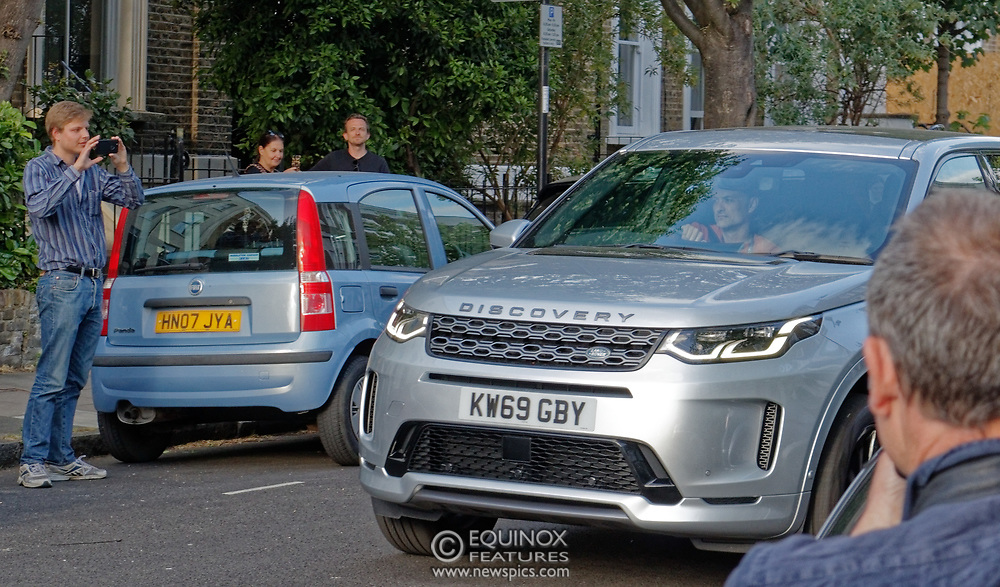 """London, United Kingdom - 24 May 2020<br /> Dominic Cummings arriving home. The scenes unfolding today at Dominic Cummings home in North London. Boris Johnsons political advisor spent the day in discussions with the Prime Minister after accusations of breaking the Corona virus lockdown. Neighbours and passers-by protested and shouted """"hypocrite"""", """"resign"""" and """"shame on you"""" when he returned to his house. London, England, UK.<br /> **VIDEO AVAILABLE**<br /> (photo by: HAUSARTS / EQUINOXFEATURES.COM)<br /> Picture Data:<br /> Photographer: Hausarts / Equinox Features<br /> Copyright: ©2020 Equinox Licensing Ltd. +443700 780000<br /> Contact: Equinox Features<br /> Date Taken: 20200524<br /> Time Taken: 17363323<br /> www.newspics.com"""