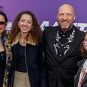 NLD/Amsterdam/20190415 - Filmpremiere première Baantjer het Begin, Ruben van der Meer, partner Sally Lodewijks en kinderen