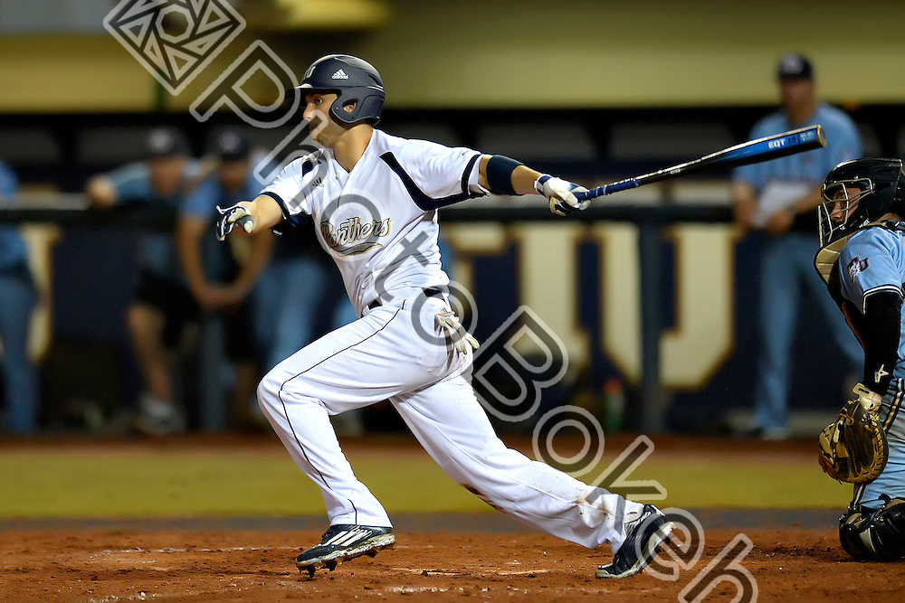 2016 February 23 - FIU's Kenny Meimerstorf (11). <br /> Florida International University defeated St. Thomas, 6-1, at FIU Baseball Stadium, Miami, Florida. (Photo by: Alex J. Hernandez / photobokeh.com) This image is copyright by PhotoBokeh.com and may not be reproduced or retransmitted without express written consent of PhotoBokeh.com. ©2016 PhotoBokeh.com - All Rights Reserved