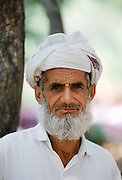 Elderly man wearing traditional clothing in Islamabad, Pakistan