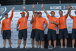 Team Alivmedica wins the first in-port race in Alicante, 4-10-1014, Alicante  - Spain.