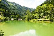 Lake Bled in the Julian Alps of the Upper Carniolan region of northwestern Slovenia