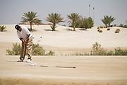 Abu Dhabi, United Arab Emirates (UAE). March 20th 2009.<br /> Al Ghazal Golf Club.<br /> 36th Abu Dhabi Men's Open Championship.<br /> Asaad Al Muharrami