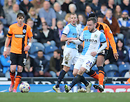 Jay Spearing, Blackburn Rovers midfielder during the Sky Bet Championship match between Blackburn Rovers and Brighton and Hove Albion at Ewood Park, Blackburn, England on 21 March 2015.