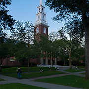 Memorial Church In Harvard Yard, Boston, Massachusetts