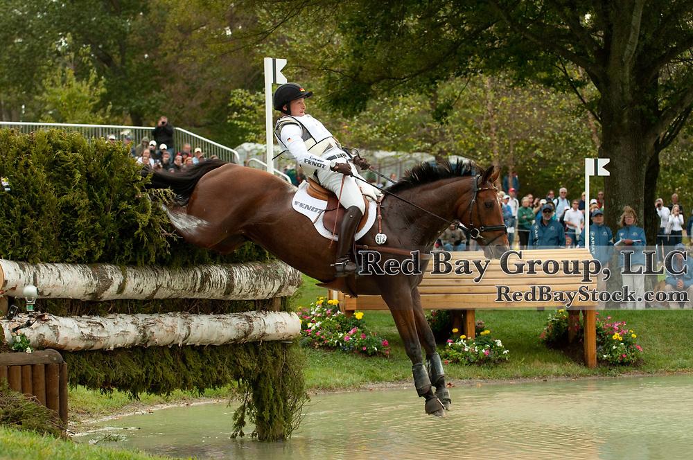Michael Jung and La Biosthetique-Sam FBW at the 2010 Alltech FEI World Equestrian Games, Lexington, Kentucky.