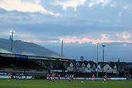 a general view of the UEFA Womens Euro qualifying match, Wales Women v Israel Women at Rodney Parade in Newport, South Wales on Thursday 15th September 2016.<br /> pic by Andrew Orchard, Andrew Orchard sports photography.